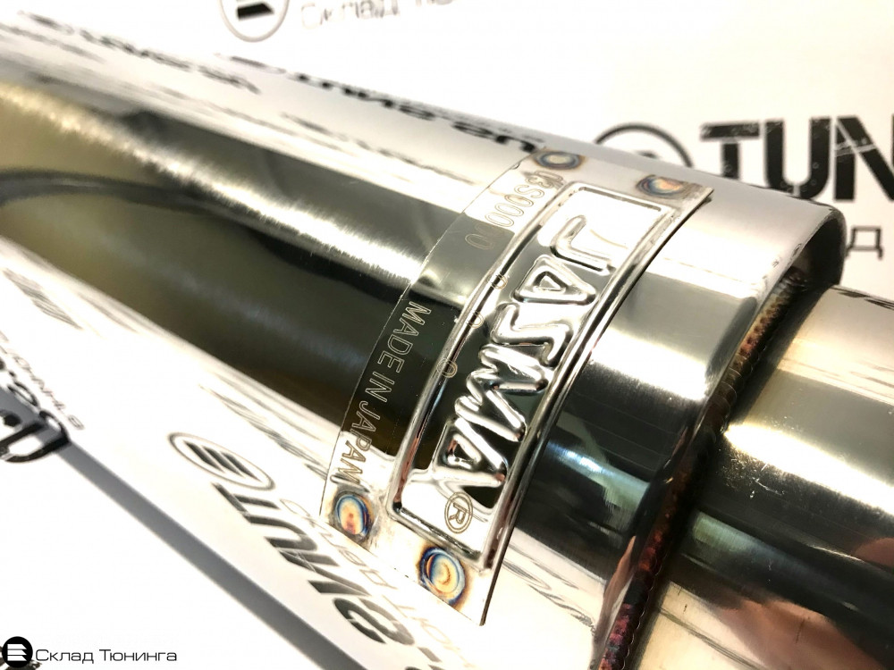 Глушитель прямоточный HKS Hi-Power 51мм обожженный - 2