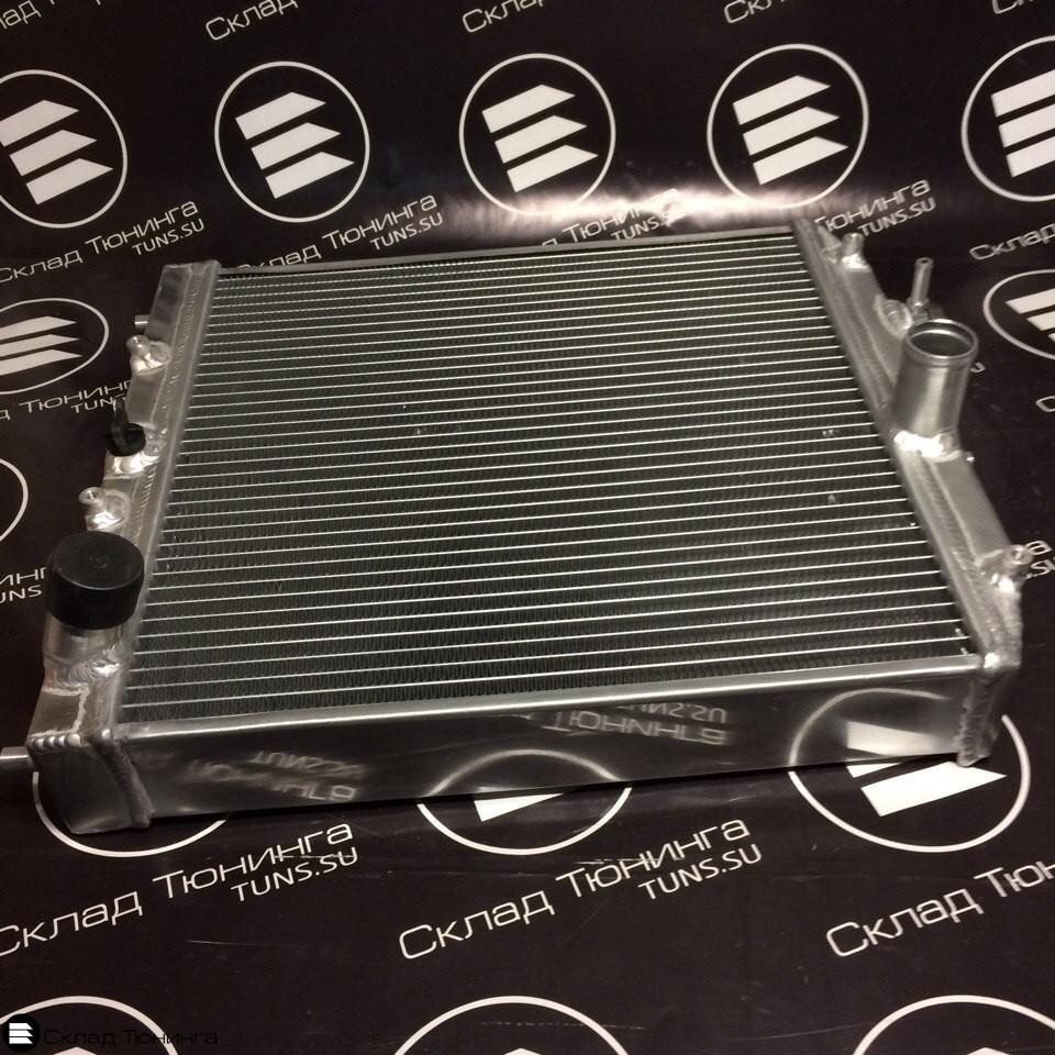 Радиатор алюминиевый 52мм МТ honda civic 92-00 - 3