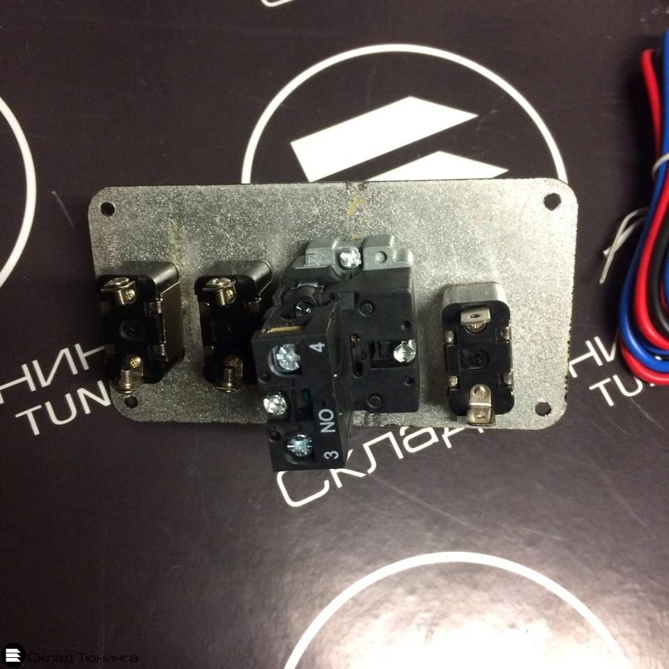 Панель зажигания 3 тумблера + кнопка - 2