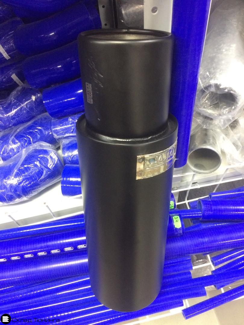Глушитель прямоточный HKS Hi-Power черный 51мм - 1