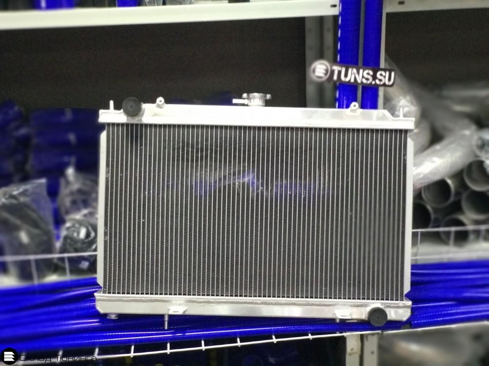 Радиатор алюминиевый Nissan silvia S13-15 50мм M/T - 1