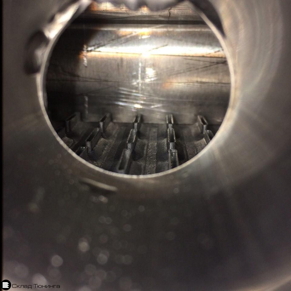Радиатор алюминиевый 52мм МТ honda civic 92-00 - 4