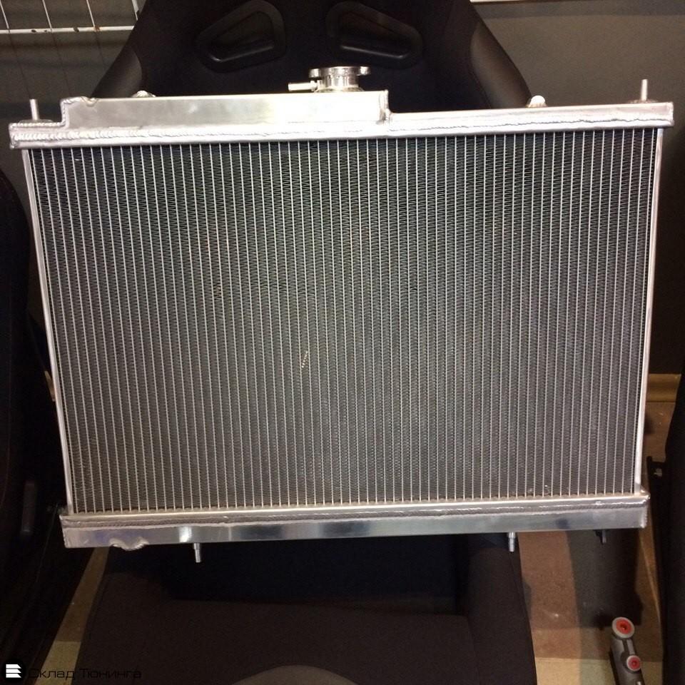 Радиатор алюминиевый Skyline R33 R34 / Laurel C34-35 42mm MT - 1