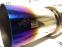 Глушитель прямоточный HKS Hi-Power 63мм обожженный #3 - 1